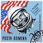 Dimitrie Stiubei - Cosmonauti - J. Glenn.jpg