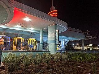 Disney Skyliner gondola lift system at Walt Disney World