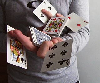 Cardistry performance art