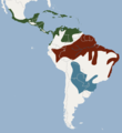 Distribution of Noctilio leporinus.png
