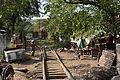 Disused Railway Tracks Yangon.JPG