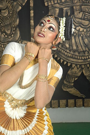 Mohiniyattam - Divya Nedungadi performing Mohiniyattam.