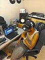 Dj M'z Working in studio.jpg