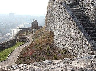 Doboj - View of Doboj from the fortress