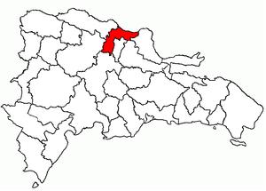 Espaillat Province - Image: Dom Rep Espaillat