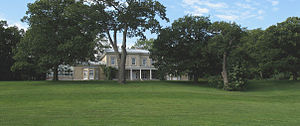 Henry Edward Burstall - Domaine Cataraqui, where Burstall was born and brought up, built by his grandfather James Bell Forsyth