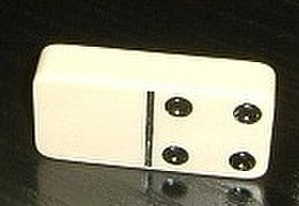 Pip (counting) - Image: Domino blank