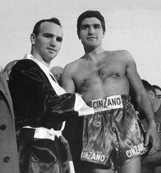Don Fullmer - Fullmer (left) with Nino Benvenuti in 1968