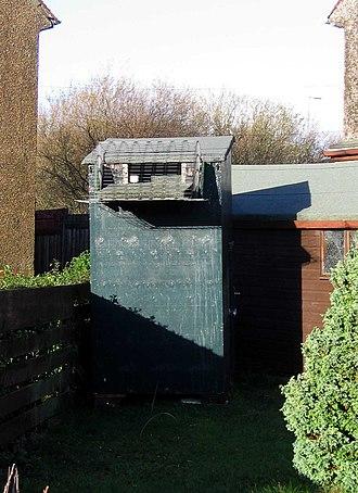 Pigeon keeping - Image: Doocot in Greenock garden