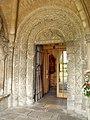 Door, Malmesbury Abbey - geograph.org.uk - 2517609.jpg
