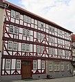 Doppelhaus aus dem späten 17. Jh. mit dem Gewölbe - Eschwege 19-21 - panoramio.jpg