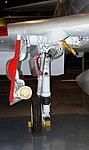 Douglas A-4B Skyhawk main undercarriage detail, Intrepid Sea, Air and Space Museum, New York. (45619225105).jpg