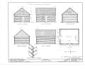 Douglas Cabin, Chewelah, Stevens County, WA HABS WASH,33-CHEW,1- (sheet 2 of 2).png