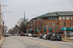 Downtown Kirkwood in December 2014