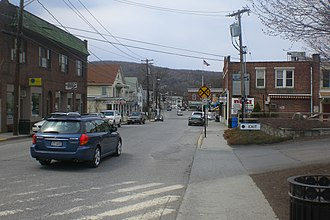 Pawling (village), New York - Downtown Pawling, east of the town center