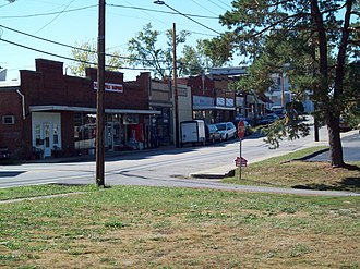 Pleasureville, Kentucky - Downtown Pleasureville (South Town)