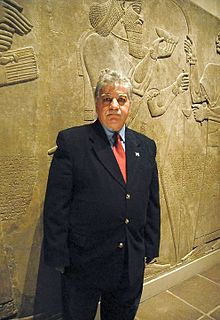Dr. Donny George Youkhanna in the Metropolitan Museum of Art.jpg