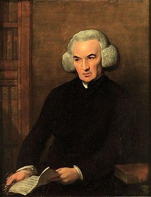 Portrait of Dr Richard Price - Image: Dr Richard Price, DD, FRS Benjamin West contrasted