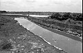 Drain Carrying Leather Industries Waste and Waterbody - Science City Site - Dhapa - Calcutta 1993-June 637.JPG