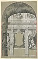 Drawing, Side Chapel, with Figures of Charity, the Virgin, and Saints, ca. 1750 (CH 18114613).jpg