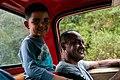Driver and his son in Margarita Island, Nueva Esparta, Venezuela 14.jpg