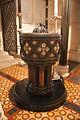 Dublin Christ Church Cathedral Baptistery Baptismal Font 2012 09 26.jpg