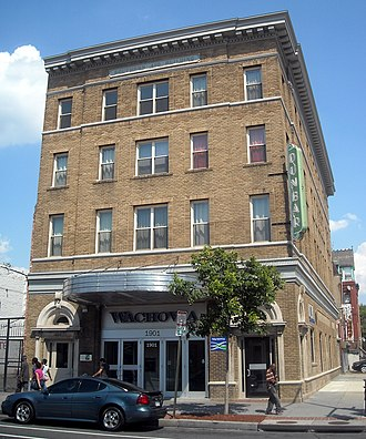 Shaw (Washington, D.C.) - Dunbar Theatre, also known as the Southern Aid Society Building, is listed on the National Register of Historic Places.