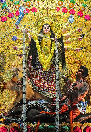Durga, Burdwan, West Bengal, India 21 10 2012 02.jpg
