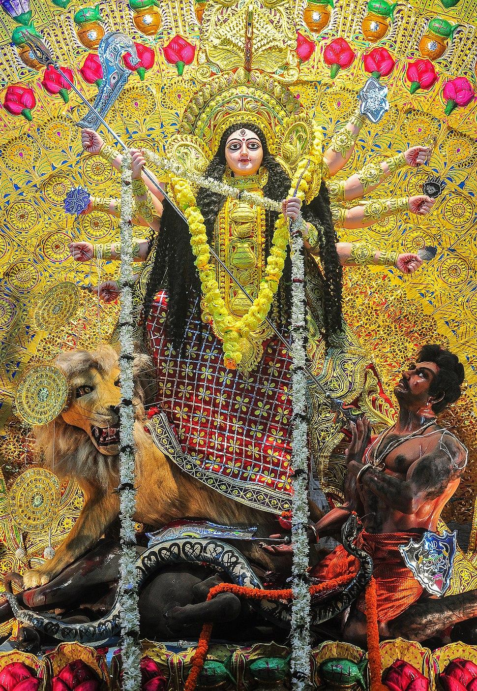Durga, Burdwan, West Bengal, India 21 10 2012 02