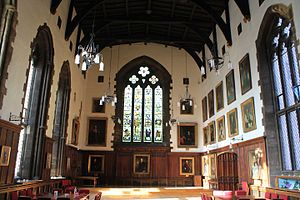 Durham Castle - Inside Bishop Bek's Great Hall