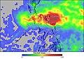 Durian 2006-11-24 - 2006-12-01 rainfall total (annotated).jpg