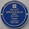 Dusty Springfield blue plaque.jpg