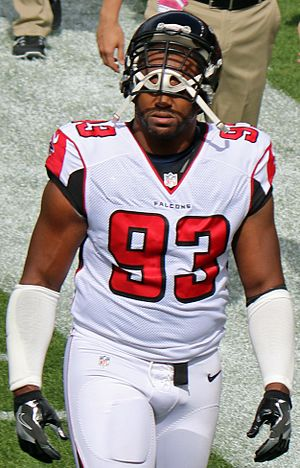 Dwight Freeney - Freeney with the Atlanta Falcons in 2016