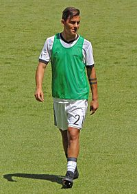 on sale 4ab66 7157a Paulo Dybala - Wikipedia