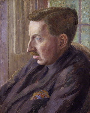 Portrait of E. M. Forster by Dora Carrington