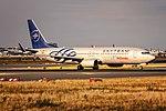EC-JHK Air Europa Boeing 737-85P(WL) departing via Rwy18 to Madrid (LEMD) @ Frankfurt - Rhein-Main International (FRA - EDDF) - 15.07.2015 (20512670709).jpg