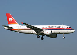 Airbus A320-200 der Meridiana