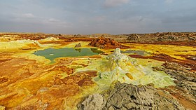 Site de Dallol en 2018.