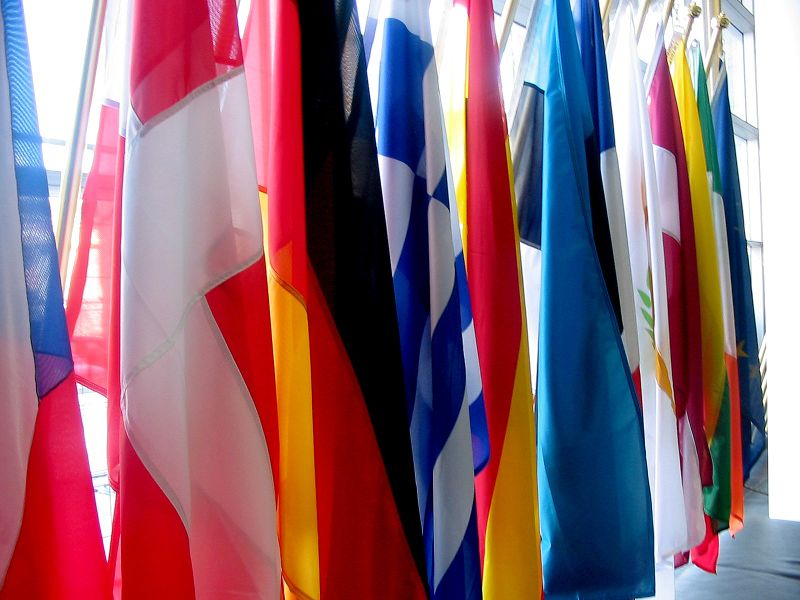 File:EU flags.JPG