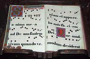 Musical notation - Early music notation