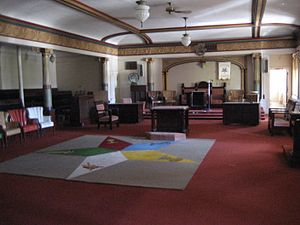 Order of the Eastern Star - Eastern Star meeting room