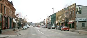 Eau Claire - Water Street looking west 2005.jpg