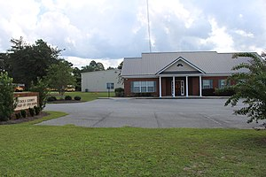 Echols County, Georgia - Echols County School District headquarters