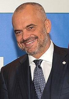 Edi Rama Prime Minister of Albania