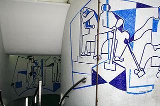 Edifício Triângulo mural