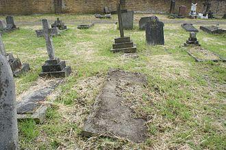 Edmonia Lewis - Lewis's grave in St. Mary's Roman Catholic Cemetery, London