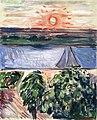 Edvard Munch - Canal at Sunset.jpg