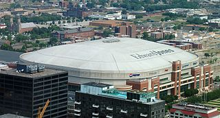 The Dome at Americas Center Stadium in St. Louis