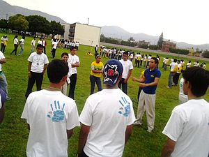 Especially for Youth - Home Evening Games the first day of EFY México-León 2011