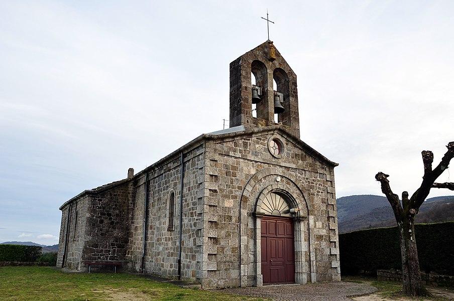 Eglise de Saint-Barthélemy-le-Meil.